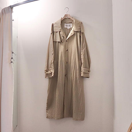Nylon trench coat