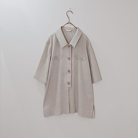 grey design shirt
