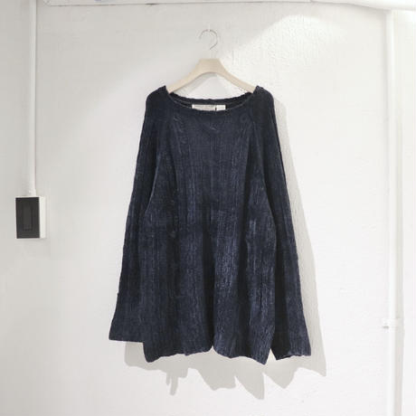 Mall navy knit