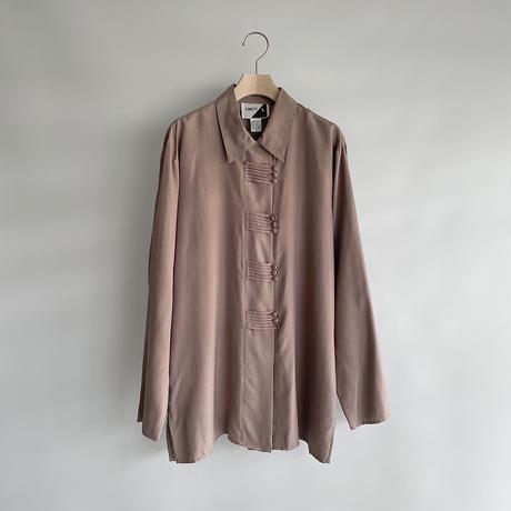 Dull pink 3button shirt