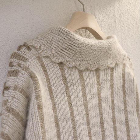 Pattern knit jacket