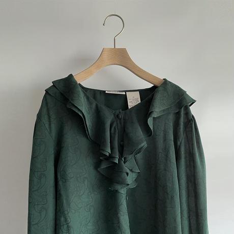 Green Paisley blouse