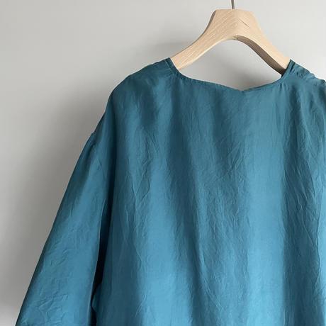Blue Green silk shirt