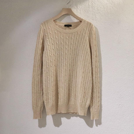 simple cable knit