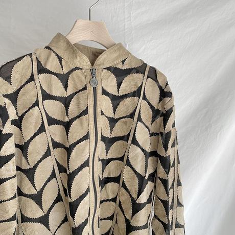 Leaf sheer jacket
