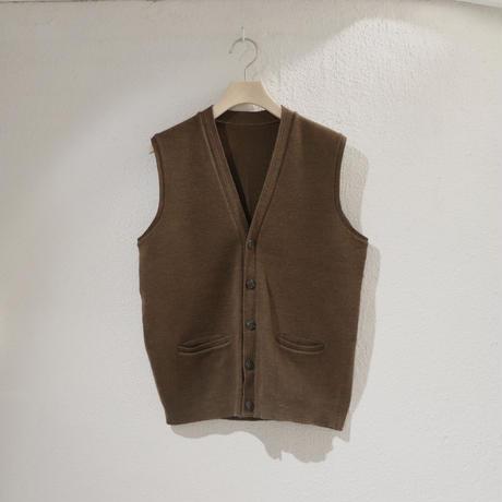Khaki knit vest