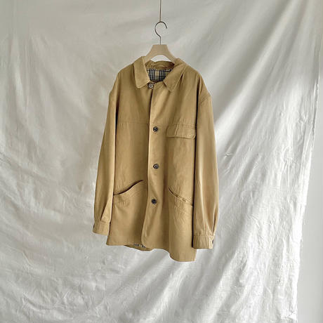Yellow suède jacket