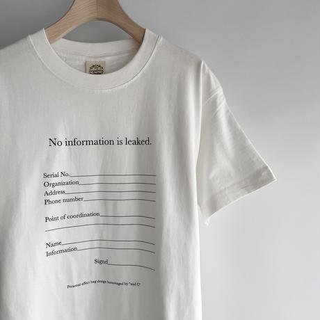 Personal T-shirts / Black