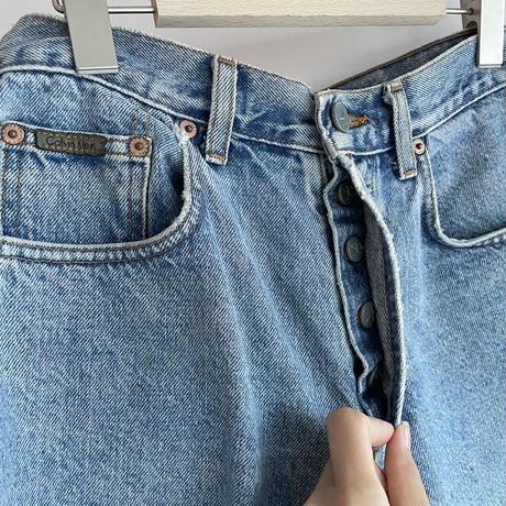CK denim short pants