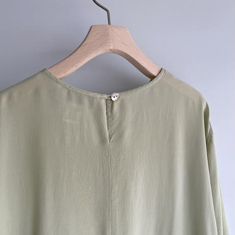 Pistàcchio silk T-shirt
