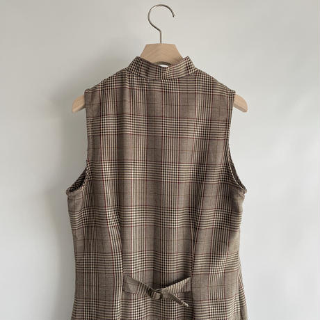 Stand collar check one-piece