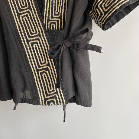 Swirl pattern haori