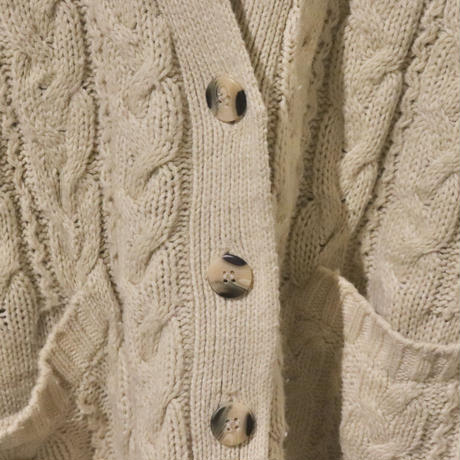 Over cable cardigan