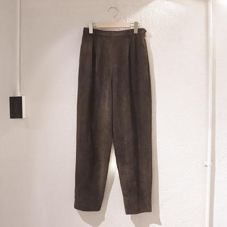 Dark brown pants