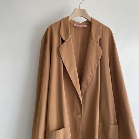 dull orange jacket