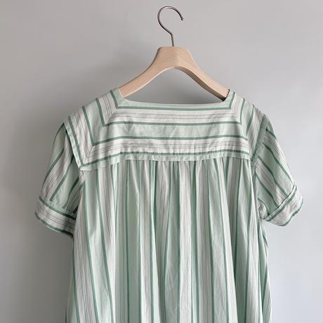Stripe one-piece
