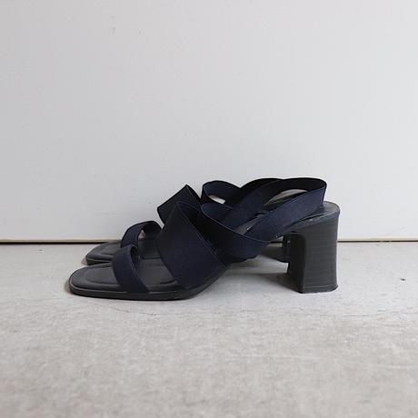 Navy rubber sandal