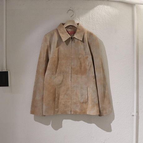 Suède tie-dye jacket