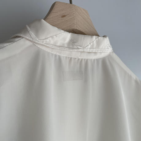 White embroidery shirt