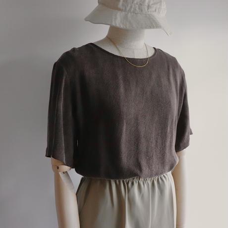 Mat brown T-shirt