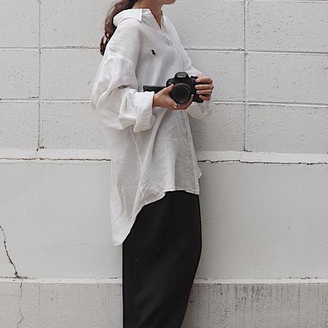 Over linen shirt