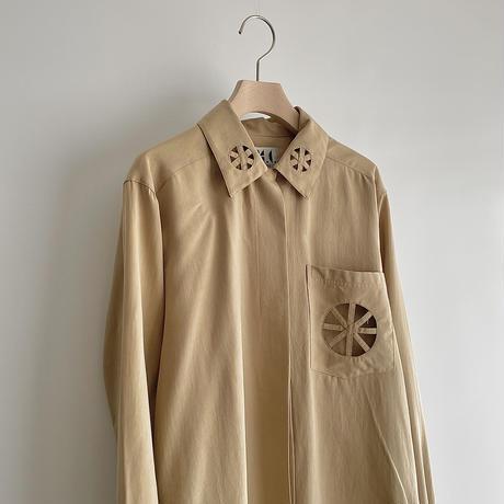 Design silk shirt
