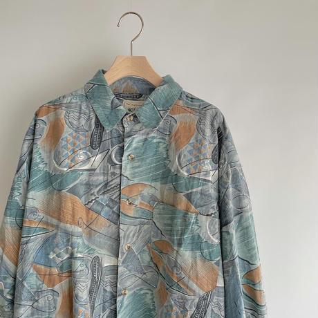 Abstract painting shirt