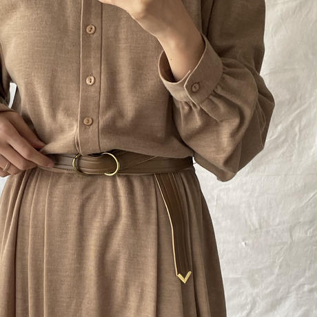 Stand collar one-piece
