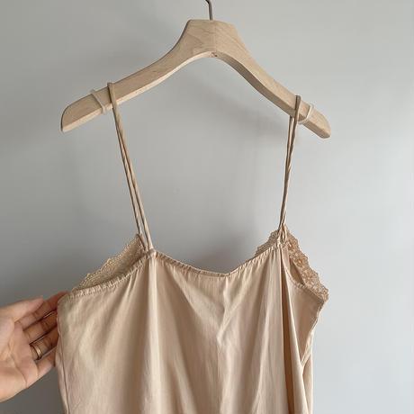 silk pink camisole