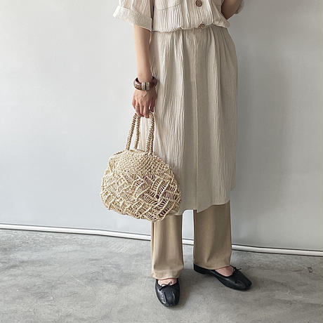 Macrame hand bag