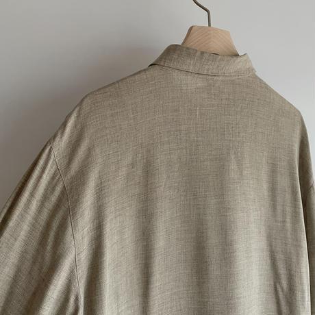 Marble button shirt