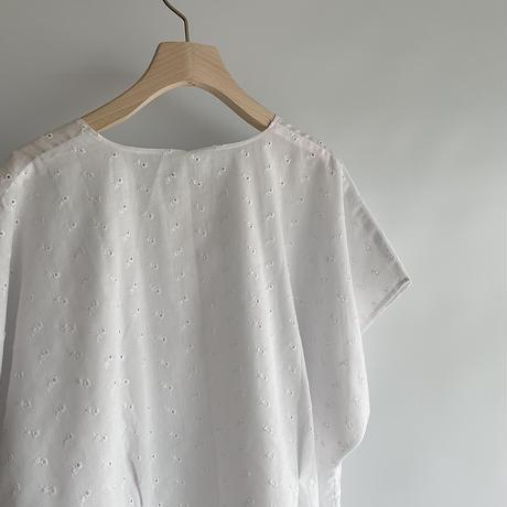 White dolman blouse