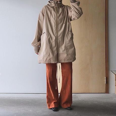 Orange suède pants