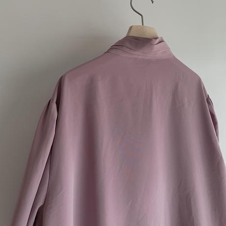 Pleats pink blouse