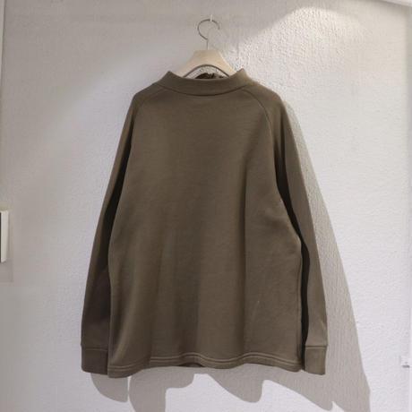 Brown zip tops