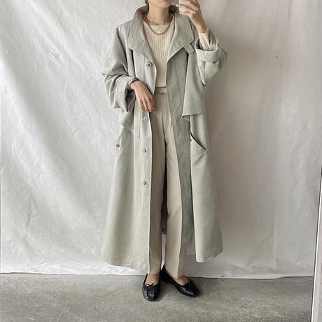 soft green coat
