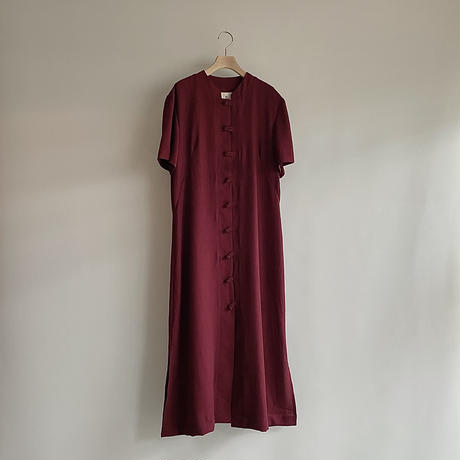 red china one-piece