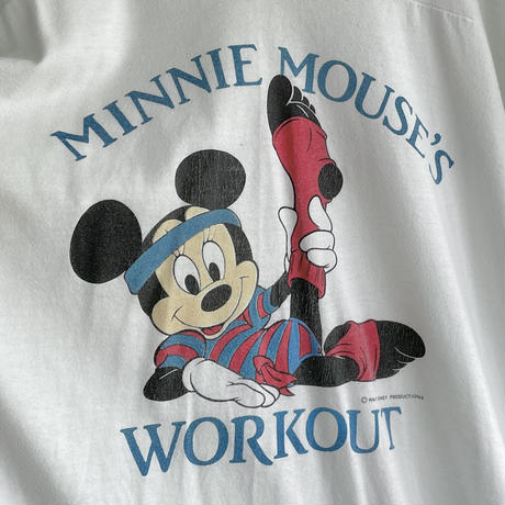 Exercise Minnie Mouse T-shirt