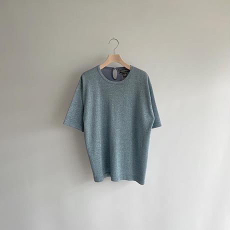 Blue glitter tops