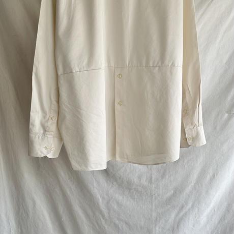 Remake stand collar shirt