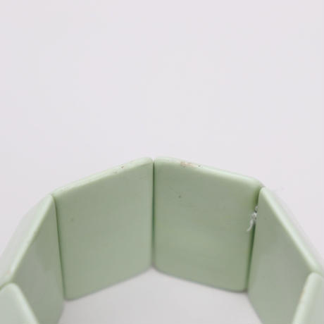 cream green bangle