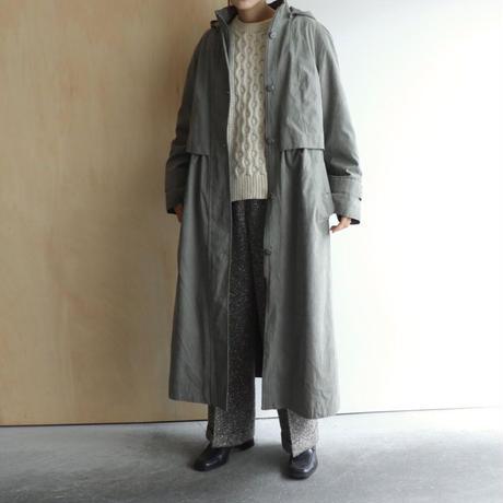 Suède stand collar  coat