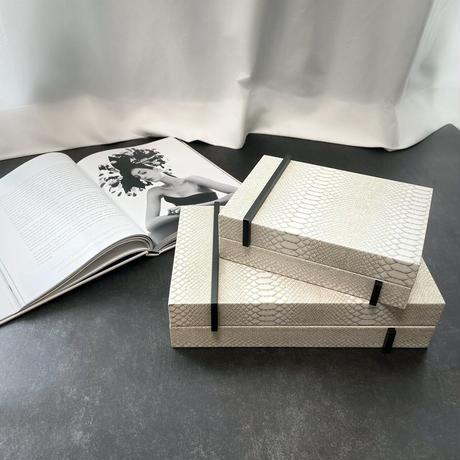 インテリアボックス レザー (ラージ)
