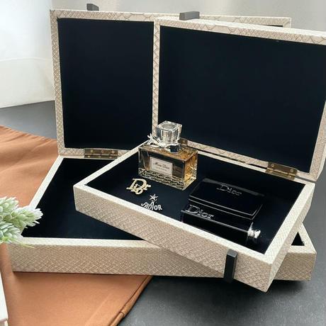 インテリアボックス レザー (スモール)