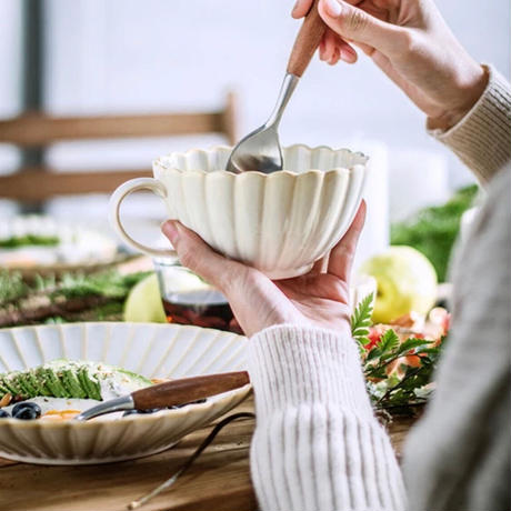 フラワースープカップ