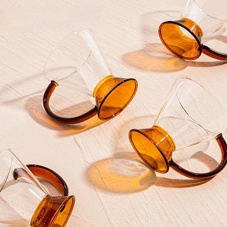 ガラスカップ トライアングル