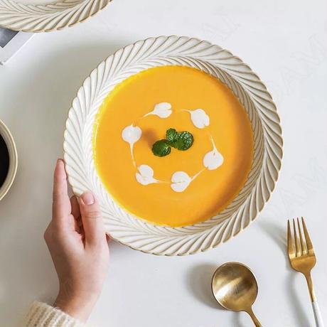 リーフリム スーププレート