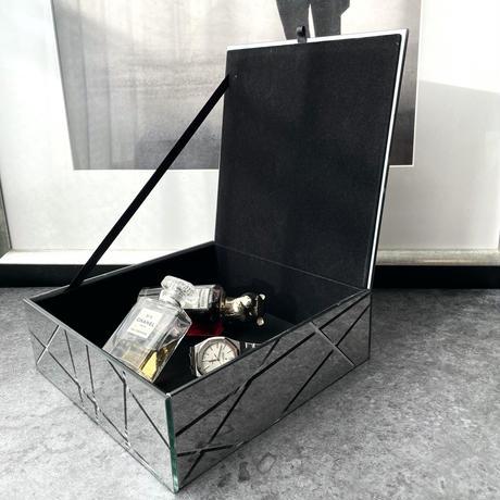 インテリアボックス ミラーシルバー(ラージ)
