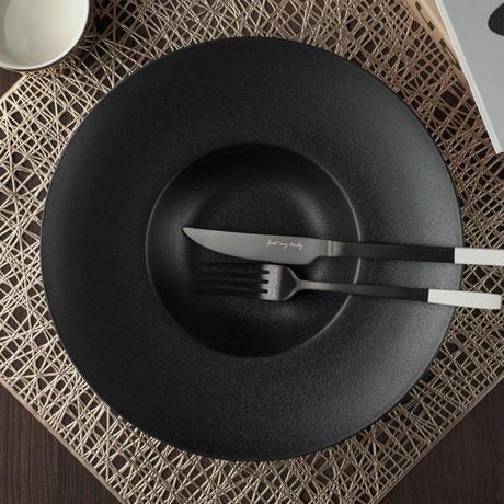ブラックスーププレート