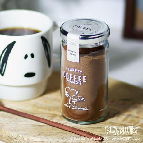 スヌーピー コーヒーパウダー 45g オリジナルブレンド  イニックコーヒー